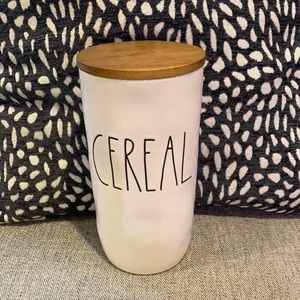 Rae Dunn Cereal Cylinder Canister